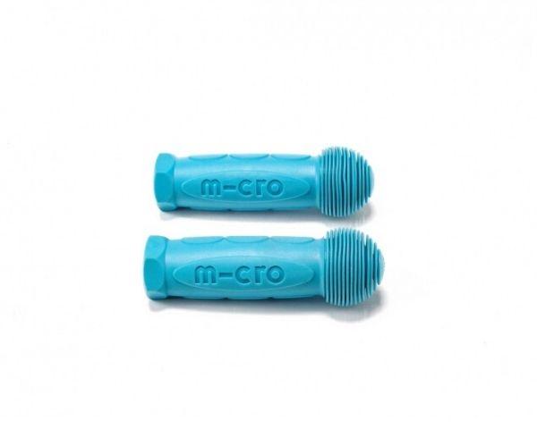 Käepidemete komplekt kummist, aqua (Mini Micro, Maxi Micro, G-Bike) jpg
