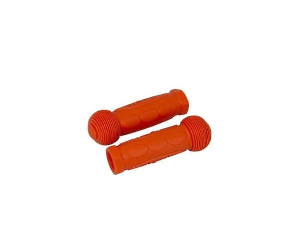 Käepidemete komplekt kummist, oranž (Mini Micro, Maxi Micro, G-Bike)
