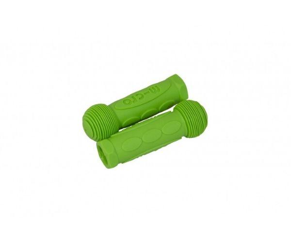 Käepidemete komplekt kummist, roheline (Mini Micro, Maxi Micro, G-Bike)