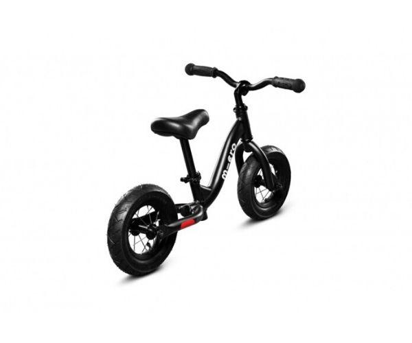 Laste jooksuratas Micro Balance Bike (must), lastele vanuses 2-5 eluaastat