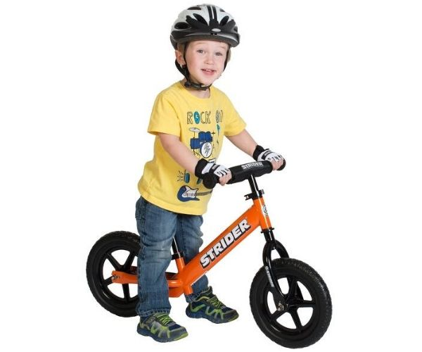 Laste jooksuratas Strider Sport 12 (oranž)