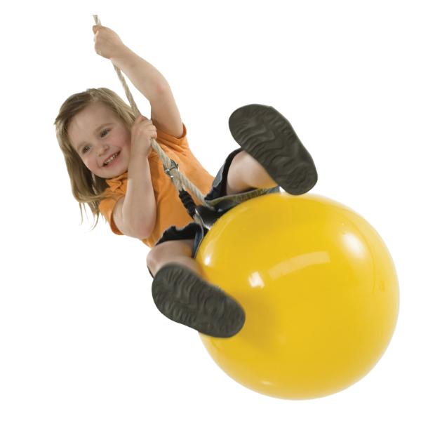 Kiikumispall kollane