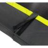 EXIT batuut maapinnale 'Siluett' + ohutusvõrk ja vedrukate, must