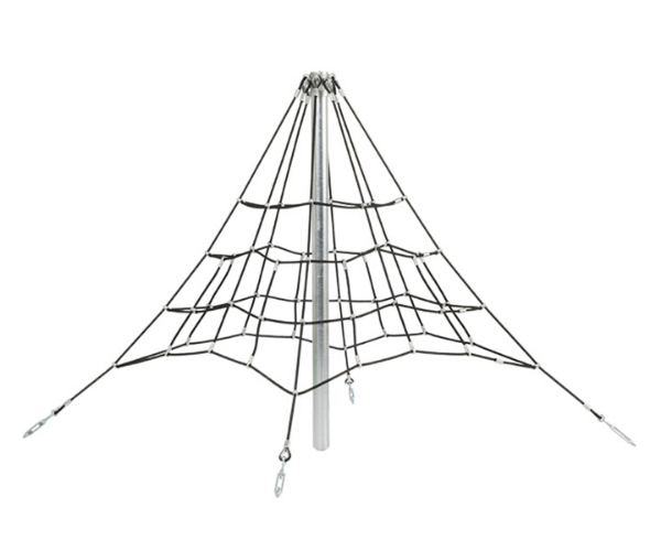 Mänguväljak võrkpüramiid 2m