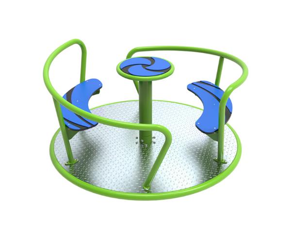 Mänguväljaku karusell 'Viento' laimiroheline