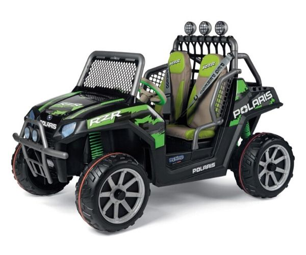 Polaris Ranger Lasteauto RZR Green Shadow 24V
