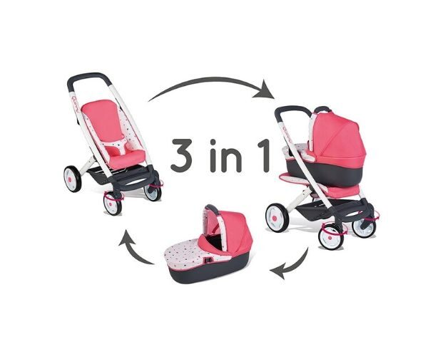 Smoby nukuvanker Quinny 3in 1