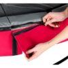 EXIT batuut 'Elegant Standard' Ø427cm + ohutusvõrk Economy ja vedrukate, punane