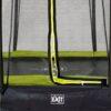 EXIT batuut maapinnale 'Siluett' Ø427cm + ohutusvõrk ja vedrukate, roheline