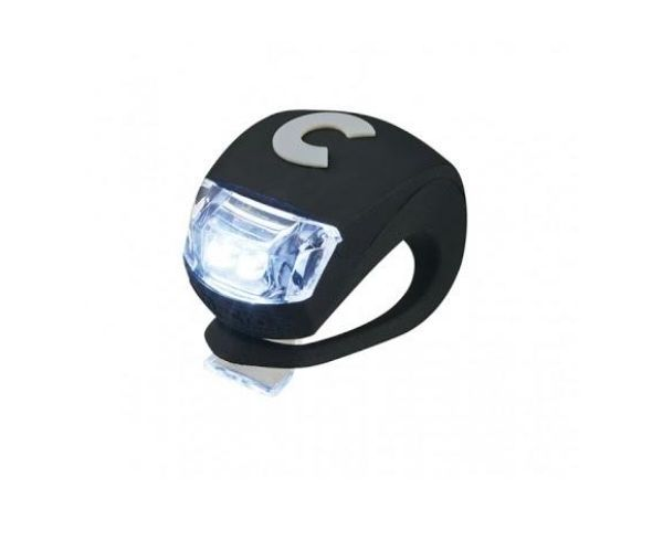 Micro rattatuli LED-tulega (must)