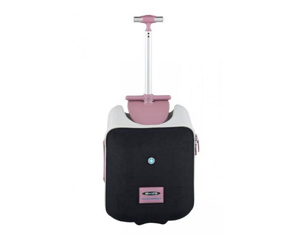 Reisikohver pealeistutav Micro Eazy valge/roosa