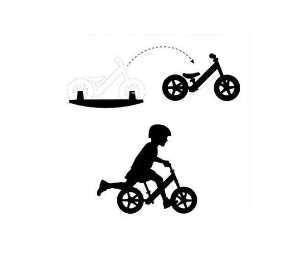 Jooksuratas kiigealusega Strider Sport 12