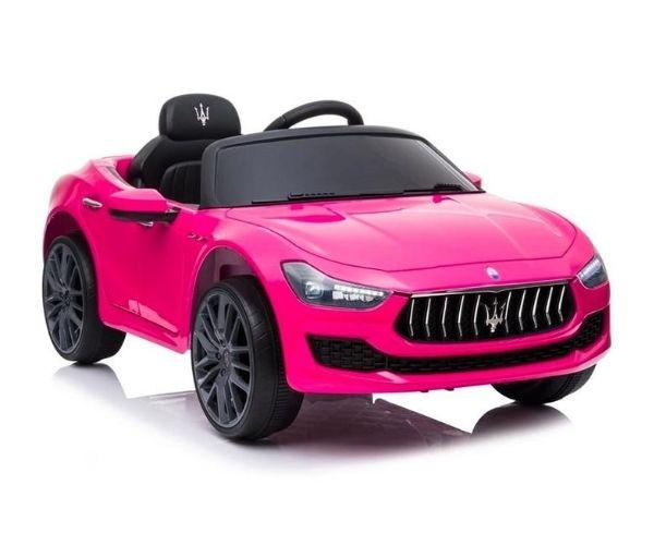 Laste elektriline auto Maserati Ghibli (roosa)
