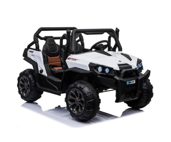 Laste elektriline auto Mega Buggy 4×4 UTV-2 (valge)