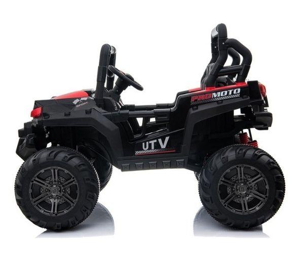 Laste elektriline bagiauto Mega Buggy 4×45W UTV Racing, valge