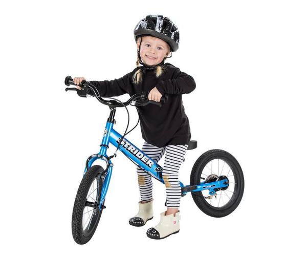Laste jooksu- ja jalgratas Strider Sport 14 (sinine), vanuses 3-7 eluaastat