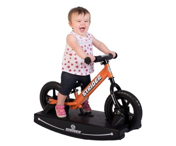 Jooksuratas kiigealusega Strider Sport 12 (oranz)