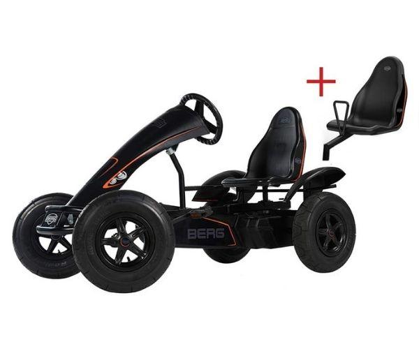 Pedaalidega kartauto Berg Black Edition
