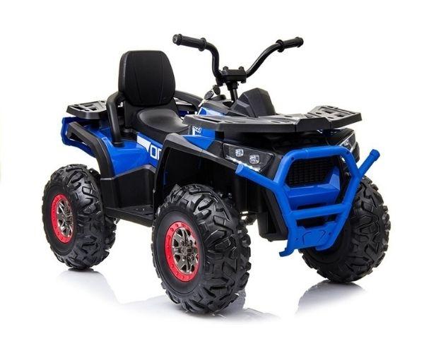 Laste elektriline ATV Spyder Desert 4×45W, sinine