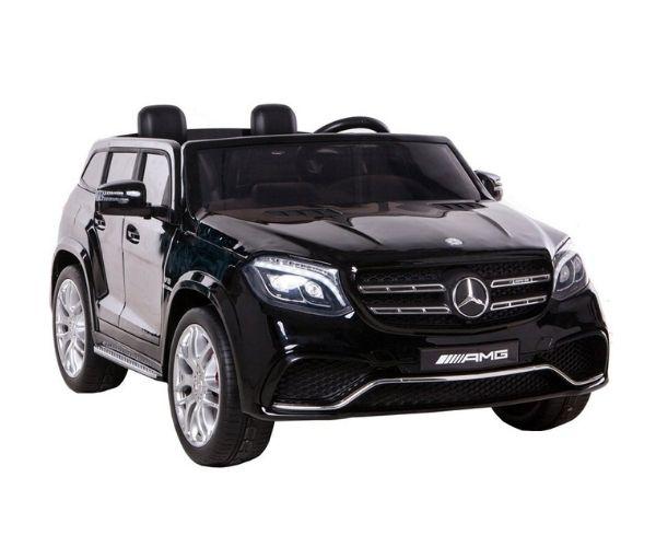 Elektriline auto puldiga Mercedes GLS63 AMG (4×4 vedu), must