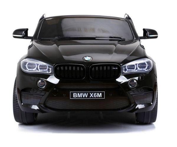 Laste elektriauto BMW X6M 2x120W must, puldiga (2-kohaline)