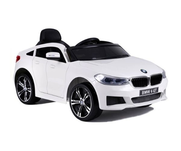 Lasteauto akuga BMW 6 GT 2x45W valge, puldiga