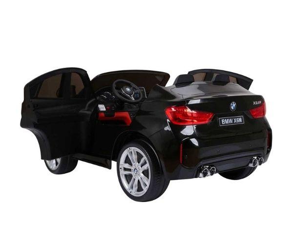 Lasteauto akuga BMW X6M 120W must, puldiga
