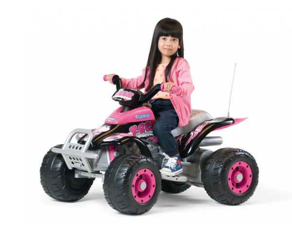 PEG PEREGO® Laste ATV akuga 12V Corral T-Rex Princess