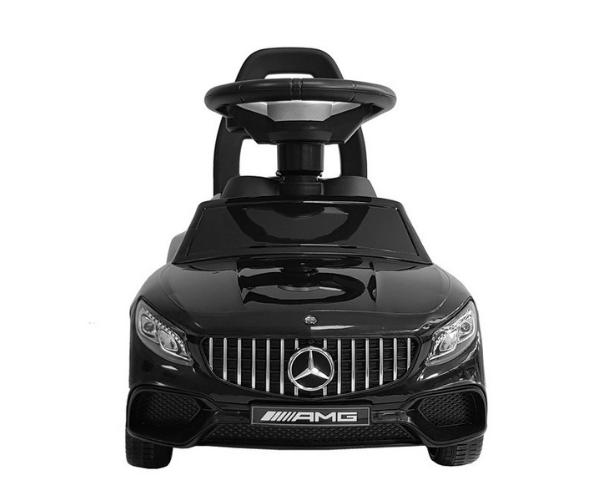 Pealeistutav auto Mercedes AMG S65 valguse ja helidega, must