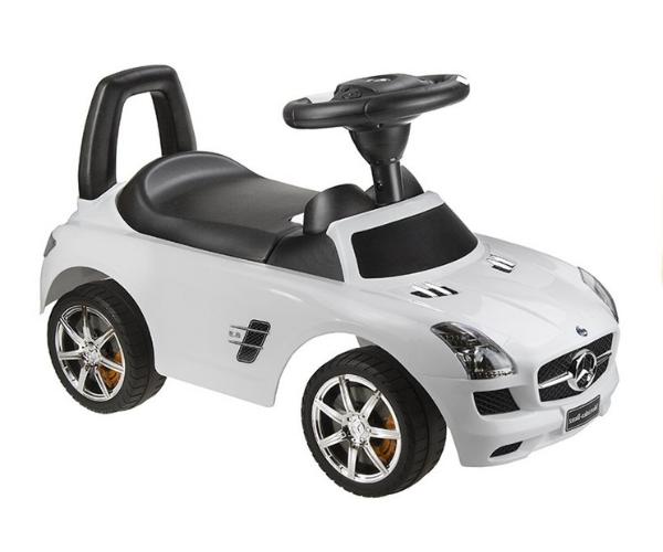 Pealeistutav auto Mercedes SLS, valge