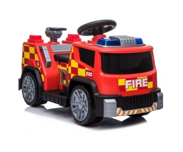 Tuletõrje lasteauto akuga 1x45W, punane