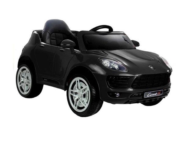 Laste elektriauto Coronet S 2x45W must, puldiga