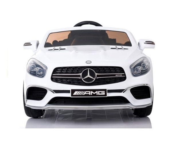 Laste elektriauto Mercedes SL65 2x45W valge (LCD ekraan), puldiga