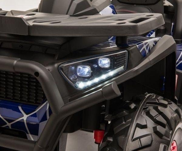 Laste elektriline ATV Spyder 4×45W, sinine