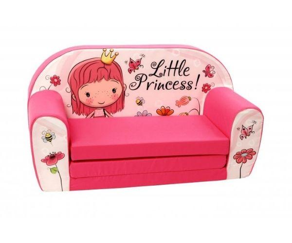 """Pehme laste lahtikäiv diivan """"Väike Armas Printsess"""""""
