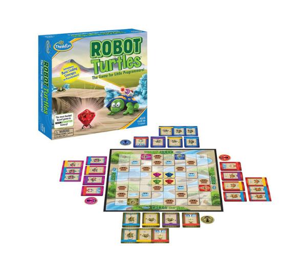 ThinkFun programmeerimismäng Robotkilpkonnad (4+)