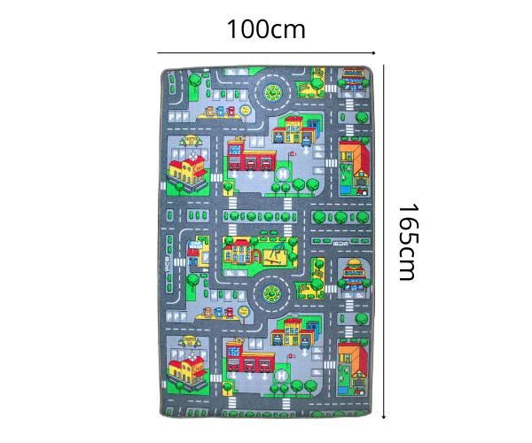 Kahepoolne autovaip Linn ja Talu 165 x 100cm
