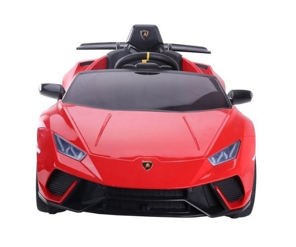 Laste elektriauto Lamborghini Huracan 4x45W punane, puldiga