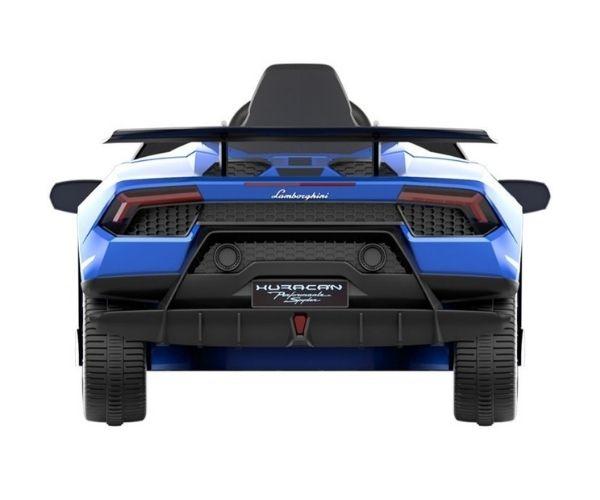 Laste elektriauto Lamborghini Huracan 4x45W sinine, puldiga