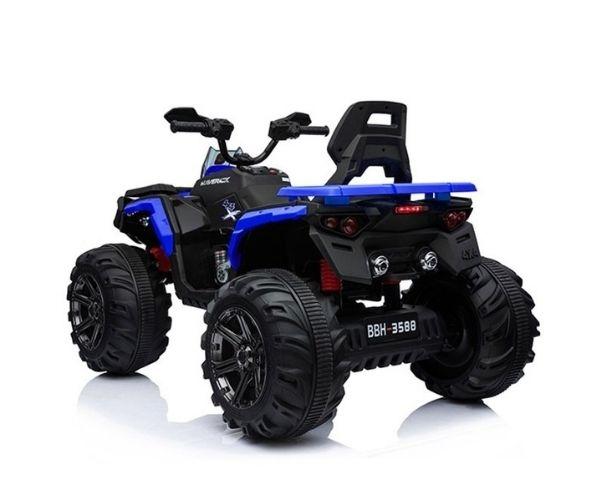 Laste elektriline ATV Maverick 4×45W, sinine