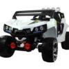 Laste elektriline bagiauto Mega Jeep 4×45W valge, puldiga