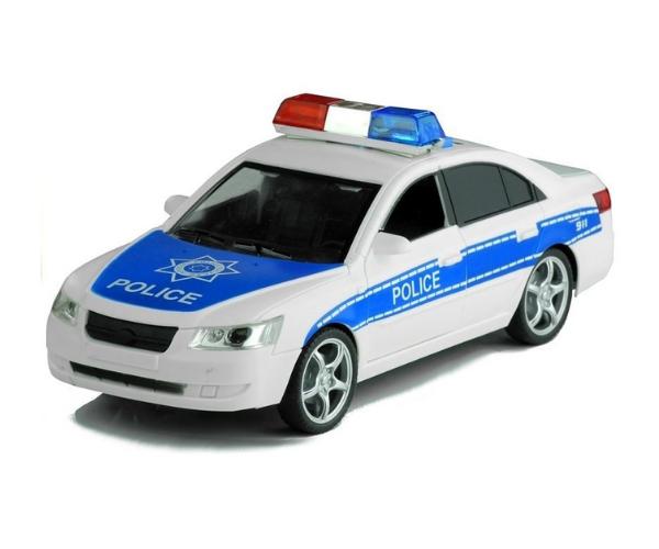 Mänguauto Politsei, valguse ja helidega (15cm)