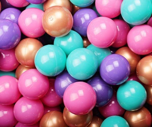 Pallimere pallid MeowBaby 7cm 50palli (lilla - violetne)