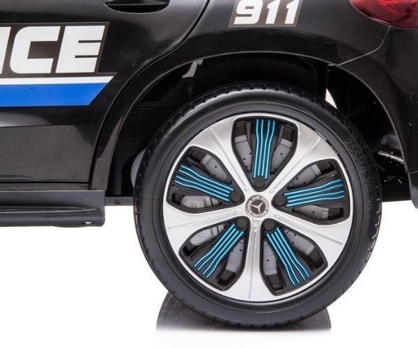 Laste elektriauto Mercedes EQC 400 2×45W Politsei, puldiga