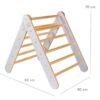 Montessori Pikleri kolmnurk - ronila väikelapsele, hall