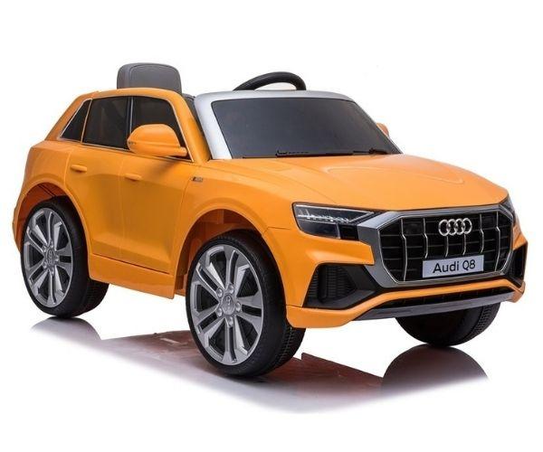 Laste elektriauto Audi Q8 2x45W oranž, puldiga