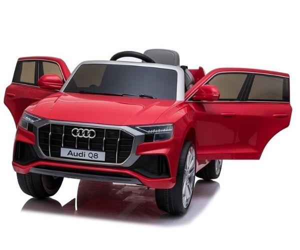 Laste elektriauto Audi Q8 2x45W punane, puldiga