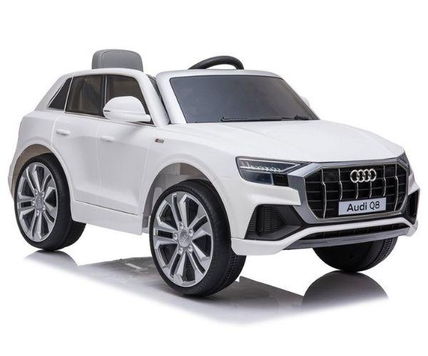 Laste elektriauto Audi Q8 2x45W valge, puldiga