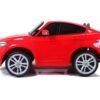 Laste elektriauto BMW X6M 2x120W punane, puldiga (2-kohaline)