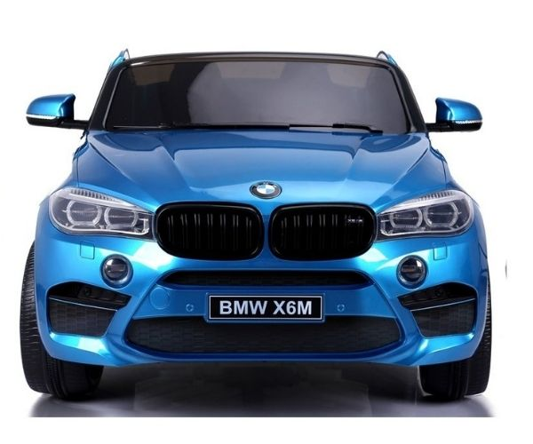 Laste elektriauto BMW X6M TUNING 2x120W sinine, puldiga (2-kohaline)